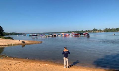 Nível do rio Tocantins está com vazão de defluência em 1.925,49 m³s nesta quinta-feira