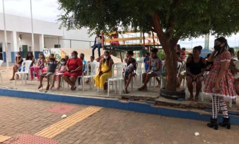 Usuários dos Cras participam das festividades juninas