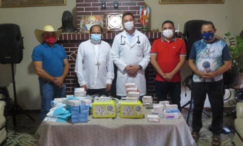Diocese de Carolina entrega respiradores e remédios enviados pelo Vaticano aos municípios de Montes Altos, Estreito e Carolina