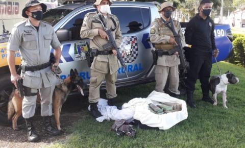 Crime organizado sofre prejuízo de mais de R$ 9 milhões com operação da Polícia Militar do Tocantins
