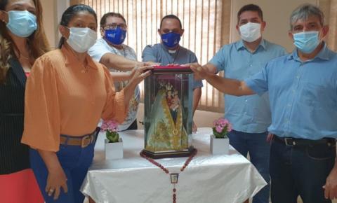 Padre Luzimar Moura lança oficialmente Círio de Nazaré de Montes Altos, durante encontro com a imprensa