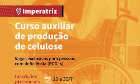 Parceria entre Suzano e Senai oferece vagas em curso de auxiliar de produção de celulose exclusivas para pessoas com deficiência