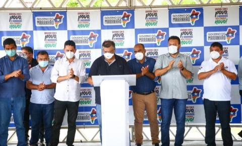 Governador Flávio Dino entrega pacote de obras para Senador La Rocque e Região Tocantina