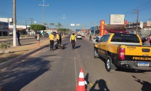 Avenida Pedro Neiva de Santana registra novo sinistro com vítima