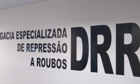 Ação da Delegacia de Repressão a Roubos de Araguaína resulta na prisão de homem acusado de praticar vários crimes de roubo na cidade