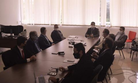 MPMA e Polícia Civil discutem parceria institucional