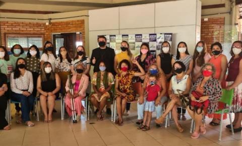 Integrantes do novo Conselho Municipal dos Direitos da Mulher tomam posse