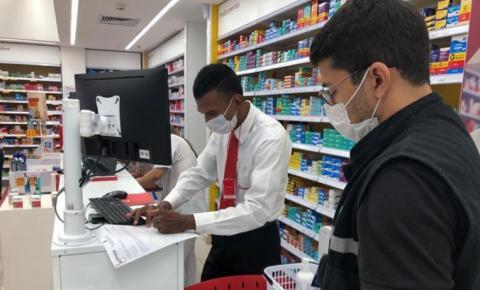 Procon Municipal fiscaliza preço de produtos em farmácias