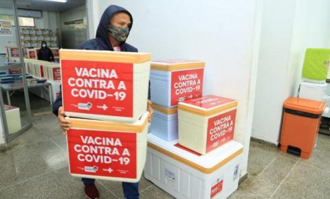 Maranhão ultrapassa 5 milhões de doses recebidas de vacina contra a Covid-19