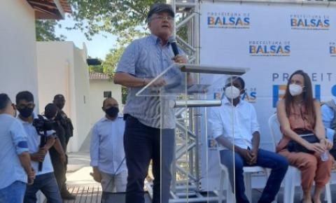 Senador Roberto Rocha assegura revitalização completa da Orla do Rio Balsas e ministro Gilson Machado afirma empenho pessoal pelo aeroporto de Balsas