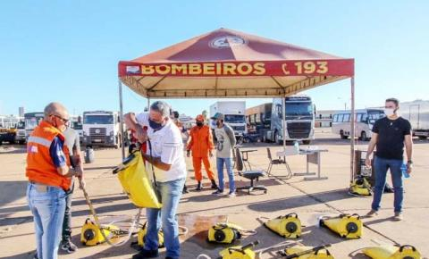 Corpo de Bombeiros seleciona integrantes das Brigadas de Combate a Incêndios Florestais em Teste de Aptidão Física