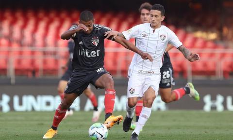 São Paulo derrota Fluminense e retoma vice-liderança do Brasileirão