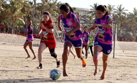 Torneio de Fut7 Beach Feminino define finalistas neste sábado (7)