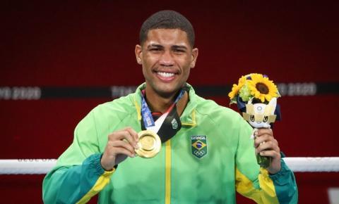 Esportes Peso-médio Hebert Conceição nocauteia ucraniano e é ouro em Tóquio
