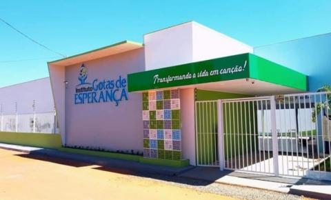 Em Estreito, inaugurado Instituto Gotas de Esperança