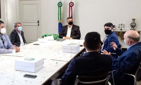 Governador Flávio Dino se reúne com Sinrural para tratar de evento agropecuário em Imperatriz