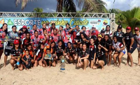 Brutos/Magnólia é campeão do Fut7 Beach Feminino