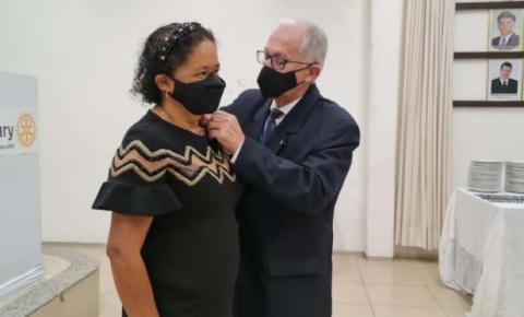 Professora Maria Ivanilde assume presidência do Rotary Imperatriz