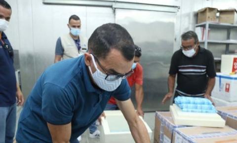 Maranhão recebe mais de 327 mil doses de vacinas contra a Covid-19 e Governo intensifica Mutirão da Segunda Dose