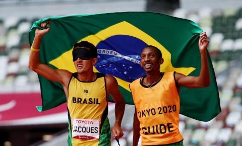 Yeltsin Jacques conquista 100º ouro do Brasil em Jogos Paralímpicos