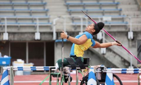 Raissa Machado leva prata no lançamento de dardo em Tóquio