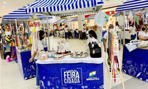 Artesanato local tem exposição na Feira Cidadã