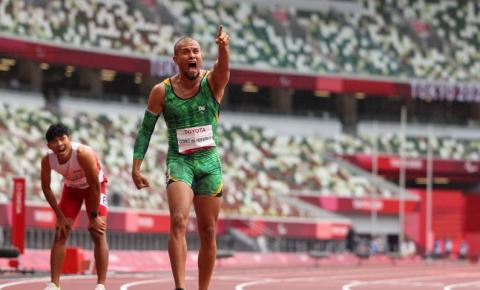 Paralimpíada: Ricardo Gomes é bronze nos 200 m da classe T37
