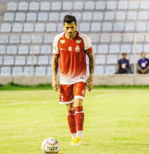 Lateral direito Léo Rodrigues sente lesão em treino e é dúvida para jogo contra o Manaus