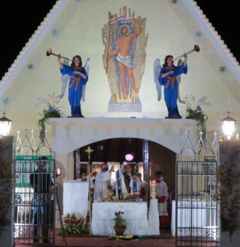 Missa celebrada por Dom Francisco Lima encerra festejo da padroeira de Montes Altos