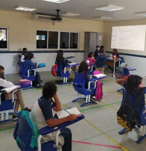 Volta às aulas: SESI/MA segue em formato híbrido e com protocolos, após um ano e meio de pandemia