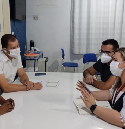 Gestão Hospitalar do Socorrão se reúne com pesquisadores de enfermagem da UFMA